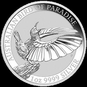 1 $ Dollar Birds Of Paradise Victoria Paradiesvogel Australien 1 Oz Silber 2018 Neueste Technik