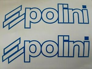 Decal Pack Polini Sticker -ALL COLOURS AVAILABLE
