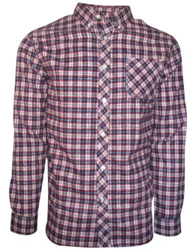 XXL Flannel Shirt for Men- Long Sleeve Plaid Button Down in Medium