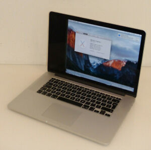 "Apple MacBook Pro 15"" 2014 2,5 Ghz i7 16GB 15 Zoll A1398 Teildefekt #16"