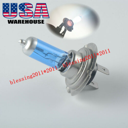 1 Buell Lightning XB12S 2004-2010 H7 Xenon HID Super Hyper Headlight Bulbs Light