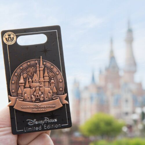 Disney Pin Limited edtion 500 enchanted storybook castle Shanghai Disneyland