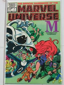 Official-Handbook-of-the-Marvel-Universe-7-034-M-034-July-1983-Marvel-Comics