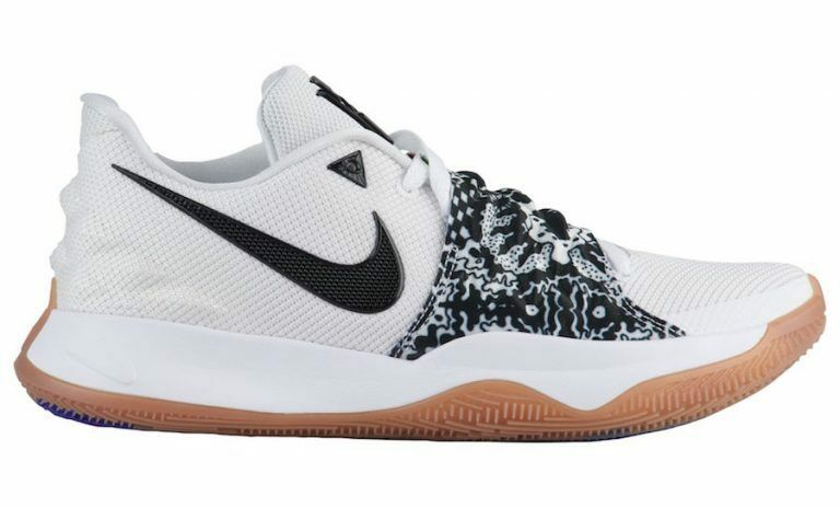 Nike Kyrie Irving Low White Black AO8979-100 4 Size 8-13 Gum Brown