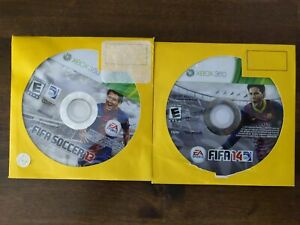 USED - Xbox 360 FIFA Soccer 13 + 14 - Lot of 2 - Bundle - Free Shipping