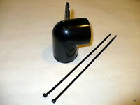 Kirby Black Round Top Adaptor fits Heritage I thru G5 w Ties 190484 Vacuum Cleaner Accessories