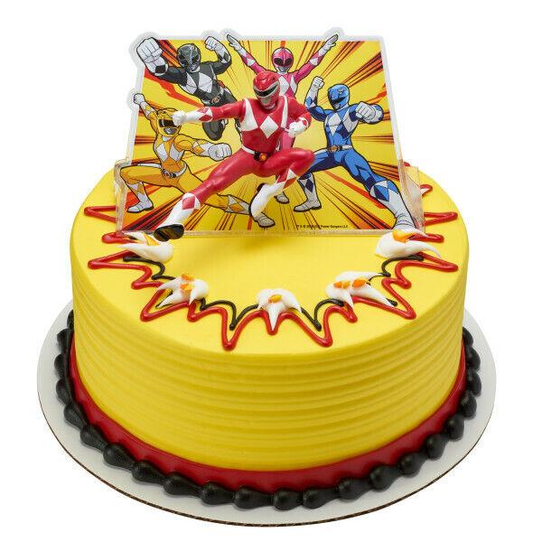 Swell Nip Red Power Rangers Morphin Time Ninja Birthday Cake Topper Kit Birthday Cards Printable Opercafe Filternl