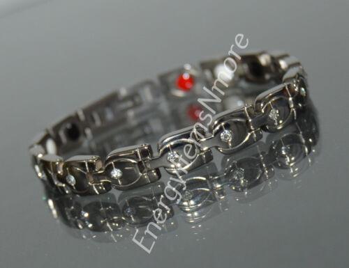 environ 10.16 cm Puissance énergétique Titane scalaire Quantum Bracelet anti EMF Aimant ** 4 in 1 **