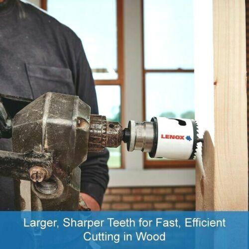"Stronger that T2 LENOX T3 Tech  HOLESAW 1/"" /""SPEED SLOT/"" 25 mm #3001616L"