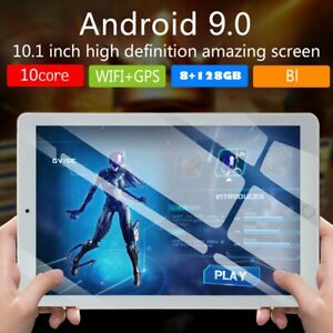 "HD Pc Tablet 10.1"" WiFi/3G-LTE Ips Android 9.0 Bluetooth 8+128GB Dual Sim камера"