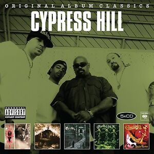 CYPRESS-HILL-ORIGINAL-ALBUM-CLASSICS-5-CD-NEW