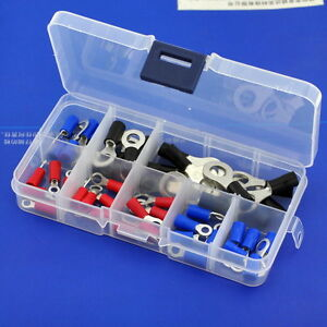 9-Types-Ring-Crimp-Wire-Terminal-Assortment-Kit-Connector-Vinyl-Insulated
