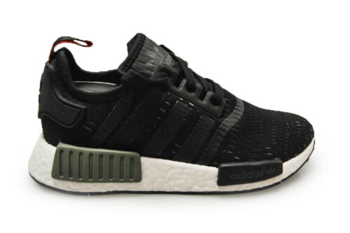 cheap for discount d1563 12585 Adidas Trainers Bb1357 Green Mens White Nmd Black r1 zqCxZdwP