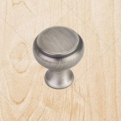 """Kitchen Cabinet Hardware Knobs kt898 Weathered Nickel Pulls 1-1//4/"""""""