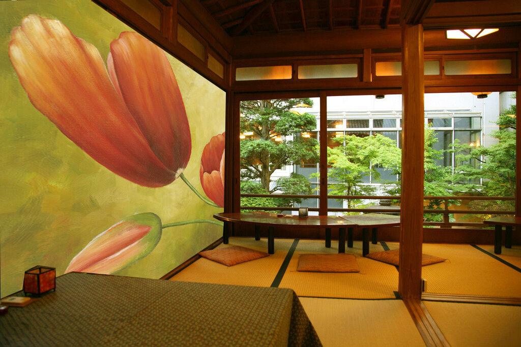 3D Tulipano Petalo`Parete Murale FotoCarta da parati immagine sfondo muro stampa