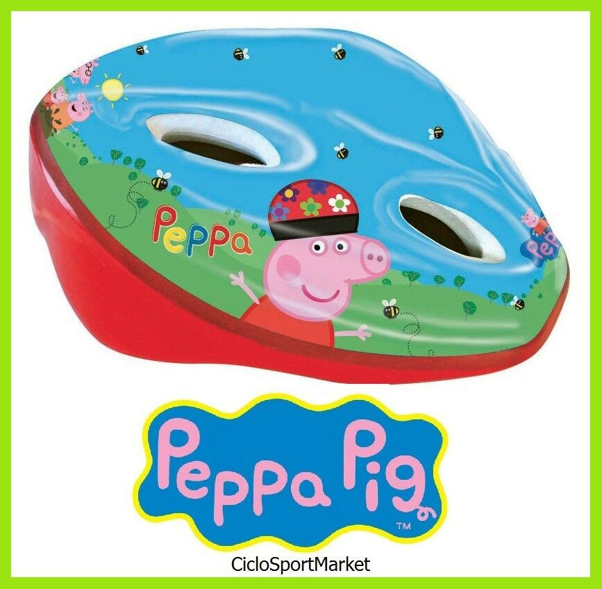 Casco  Peppa Pig  for bike girl   little - Circumference ADJUSTABLE 52 - 56 cm