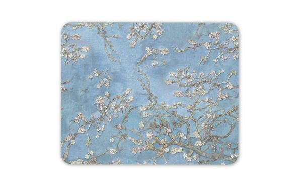 100% Waar Beautiful Vintage Almond Blossoms Mouse Mat Pad - Oriental Computer Gift #16328