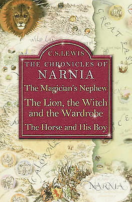 3 in 1 The Magician's Nephew WithThe Lion, the Witch and the Wardrobe and The...
