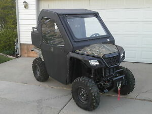 Honda Pioneer 500 Cab Enclosure With Tip Out Windshield