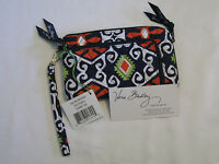Vera Bradley Sun Valley Zip Zip Wristlet Clutch Wallet Coin For Purse Tote
