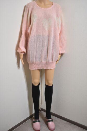 Ivana Helsinki Oversize Mohair Sweater Heart Patte