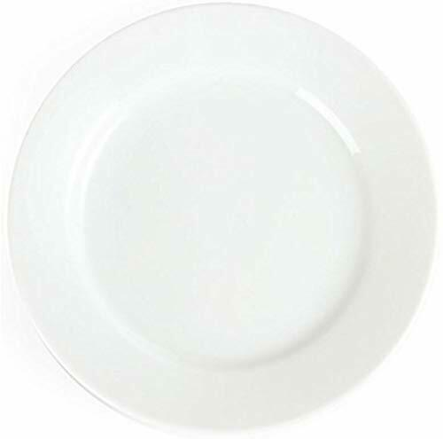 Olympia blancware assiette large bord