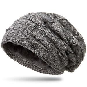 Caspar Mu135 Damen Herren Beanie Winter Mütze Warm Gefüttert Mit Flecht Muster Hüte & Mützen Kleidung & Accessoires