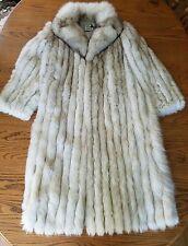 Vintage 1990's Full Lenght Fox Fur Coat Size M