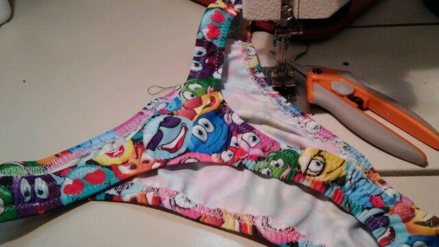 Men Emogi Swimsuit Custom underwear nylon spandex USA Handmade s m l or xl new