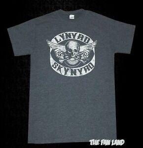 eabc02aa Image is loading New-Lynyrd-Skynyrd-Skull-Tour-Mens-Vintage-T-