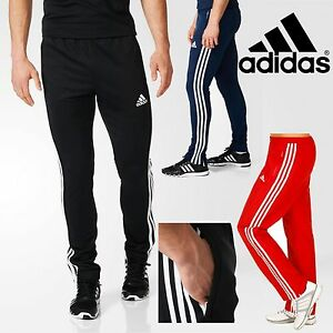 adidas-Mens-T16-CLIMALITE-Sweat-Pants-Sports-Running-Gym-Tracksuit-Bottoms