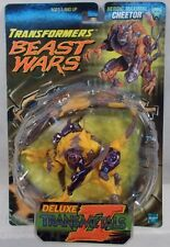 Transformers Beast Wars Transmetals 2 Deluxe Cheetor II Roman Numeral Package