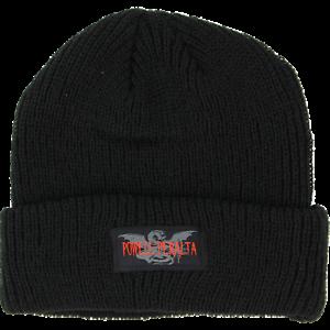 Powell-Peralta-Logo-Skateboard-Beanie-Black
