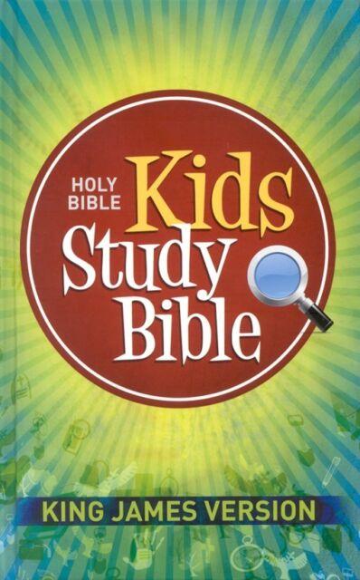 KJV Kids Study Bible, Hardcover edition