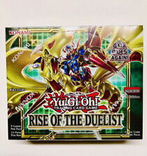 Rise of the Duelist Booster Box 1st Edition Factory Sealed New Yu-Gi-Oh!