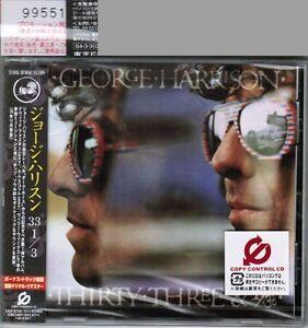 Sealed-PROMO-GEORGE-HARRISON-33-1-3-JAPAN-CD-w-OBI-TOCP-67335-Free-S-amp-H-PP