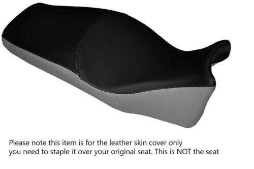 GREY /& BLACK CUSTOM FITS HONDA VFR CROSSTOURER 1200 12-15 LEATHER SEAT COVER