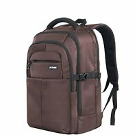 Jothin B725 Laptop Backpack Large Rugged Business Bag Up To 17computer Brown