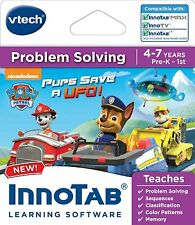 VTech InnoTab Software Paw Patrol Ages 4-7 Years Problem Solving Memory Patterns