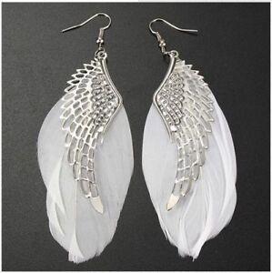 Women-Angel-Wing-Feather-Fashion-Dangle-Long-Earring-Chandelier-Drop-Earrings
