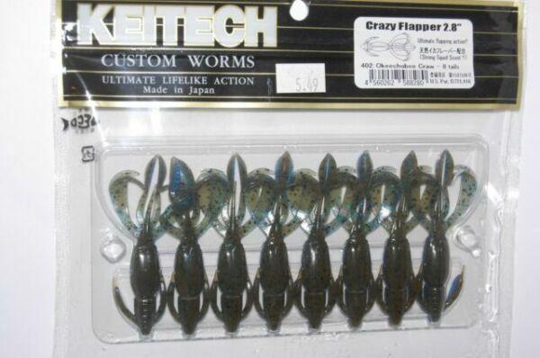 Toygogo 10pcs Weighted Fishing Hook Soft Worm Crank Hooks