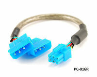 9 Pci Express 6-pin To Two 4-pin Molex Male Atx Internal Power Cable, Pc-016r