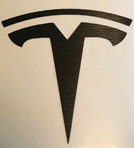 "Tesla Model S 3 Many Colors!! Y  Steering Wheel /""T/"" Logo Decal X"