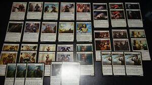 Magic the Gathering KLERIKER Deck 1, mono weiß, 40 Karten, MtG, Uncommon