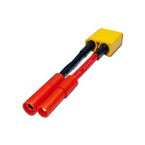 Adapter EC3 Buchse Female auf HXT 4mm Stecker Lipo Akku Ladekabel 10cm 14AWG RC