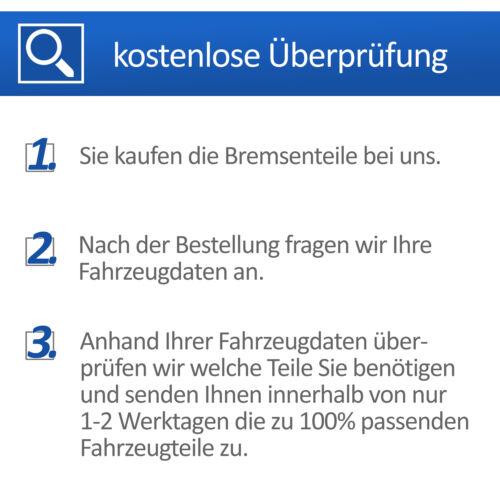 ATE BREMSSCHEIBEN BELÜFTET SET Ø312 mm VORNE BMW 3-ER E90 E91 E93 320+325