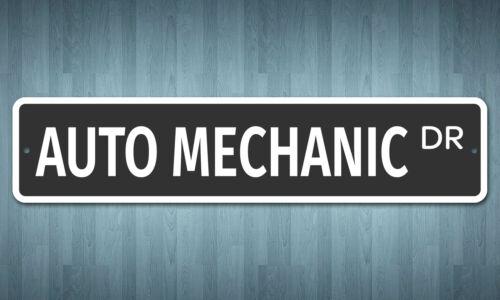 "5182 SS Auto Mechanic 4/"" x 18/"" Novelty Street Sign Aluminum"