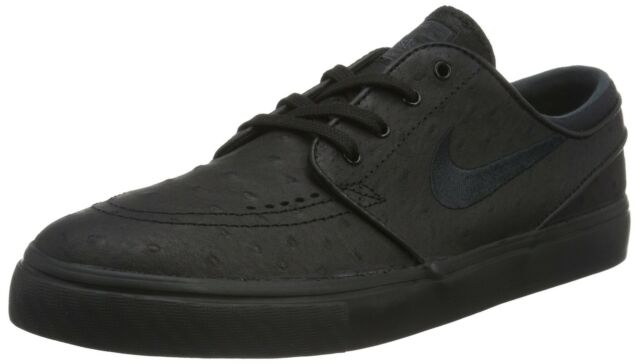 7b3faa137c07 Nike Men s Zoom Stefan Janoski L Black Black Anthracite Skate Shoe 13 Men US
