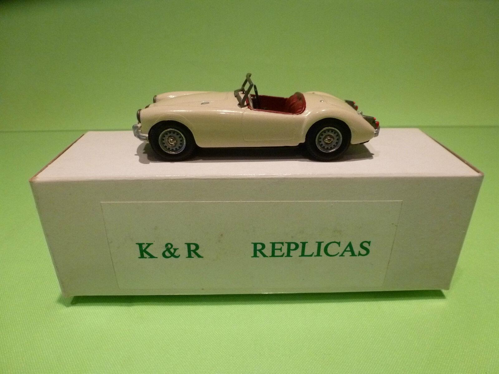 K & R REPLICAS - ACE KAR KITS  MGA 1500 1956  1 43  - IN BOX  - GOOD CONDITION