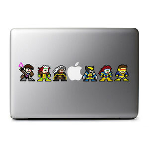 8-Bit Retro The XMEN Decal Set for MacBooks, iPads, iPhones, Phones